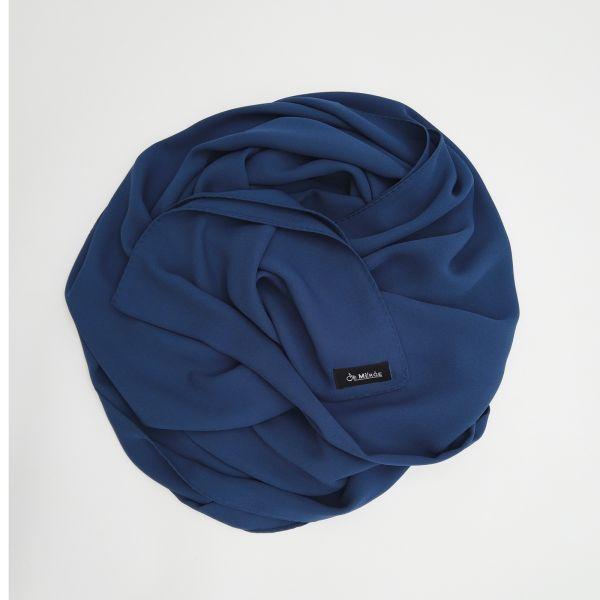 Dark blue scarf