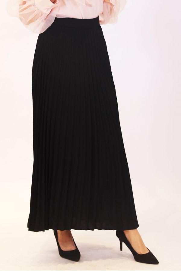 Black Pleated Skirts